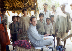 Hangin' out with village kids - Madhya Pradesh, India