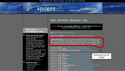 keyword_research_apogee_meta_keywords_tool